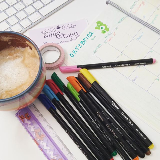 I have been using Maped pens along with staedtler for a while now... I will do a review soon! #bulletjournal #bulletjournaling #bujo #bulletjournaljunkies #bulletjournalcommunity #bujojunkies #bulletjournalnewbie #bujoinspire #bujoncoffee #journal #plannercommunity #notebook #bulletjournallove